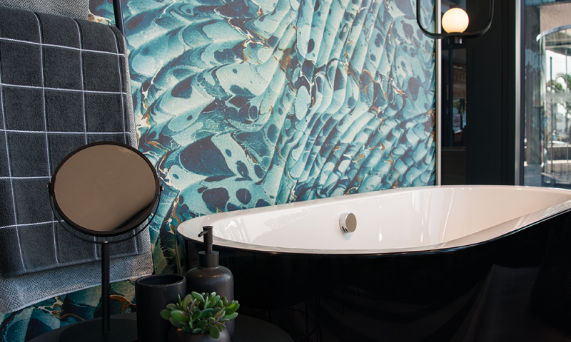 The Pure Collection: The Libra Kate Woburn Black Bath