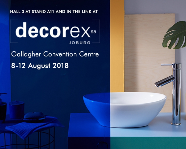 Top Stylists take on ISCA bathroom trends project at Decorex Joburg