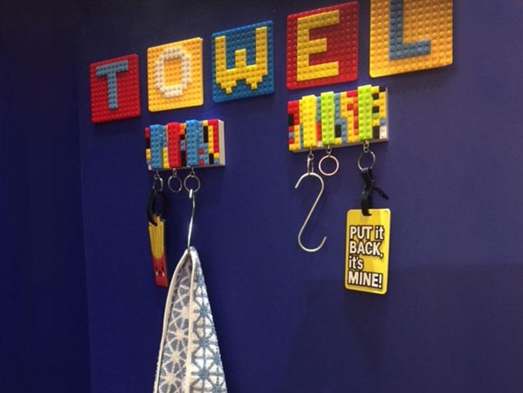 Urban Playground - DIY Towel Rail