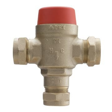 Tempering Valve without Non-Returns CxC 22mm