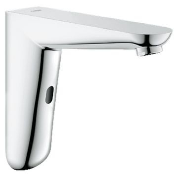 Grohe - Euroeco Cosmo E Infra-Red Electronic Wall Basin Tap with o Mixing Device Chrome
