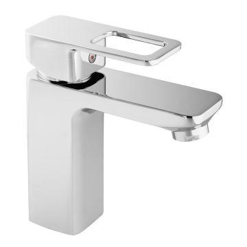 Isca - Bordo Square (Loop Handle) - Taps - Basin Mixers - Chrome