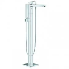 Grohe - Eurocube OHM Freestanding Bath Mixer with Shower Set Chrome