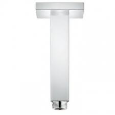 Grohe - Rainshower Ceiling Shower arm 142mm Square Plate Chrome