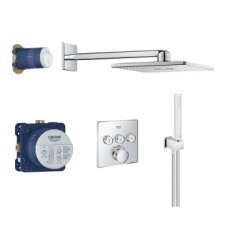Grohe - Grohtherm SmartControl Perfect Shower Set with Rainshower SmartActive 310 Cube Chrome