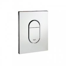 Grohe - Arena Cosmopolitan WC Wall Plate Vertical Chrome