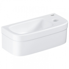 Grohe - Euro Ceramic Mini Wall-Hung Basin without Pedestal 370x180mm White