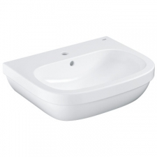 Grohe - Euro Ceramic Wall-Hung Basin w/ Overflow 600x480mm White