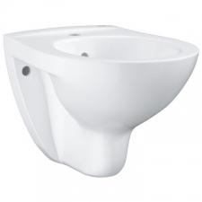 Grohe - Bau Ceramic Wall-Hung Bidet w/ Overflow White