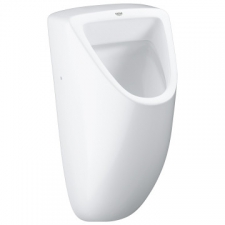 Grohe - Bau Ceramic Wall-Hung Urinal w/ Concealed Inlet White