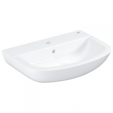 Grohe - Bau Ceramic Wall-Hung Basin w/ Overflow 553x386mm White