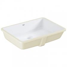 Grohe - Cube Ceramic Underslung Basin w/ Overflow 492x370mm White