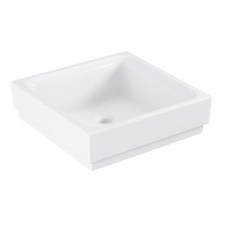 Grohe - Cube Ceramic Countertop Basin w/o Overflow 400x400mm White