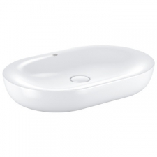 Grohe - Essence Ceramic Vessel Countertop Basin without Overflow 600x400mm White