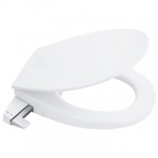 Grohe - Bau Ceramic Soft Close Manual Bidet Seat w/ Two Sprays White