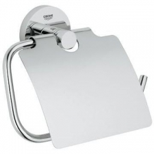 Grohe - Essentials Toilet Paper Holder with Cover Chrome