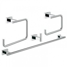 Grohe - Essentials Cube Master Accessories Set 4-In-1 Chrome